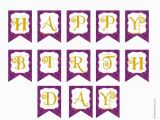 Happy Birthday Banner Template Free Printable Chandeliers Pendant Lights