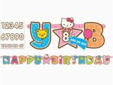 Happy Birthday Banner Template Hello Kitty Hello Kitty Happy Birthday Banner