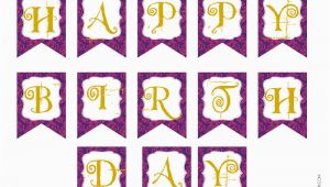 Happy Birthday Banner Template Printable Free Chandeliers Pendant Lights