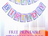 Happy Birthday Banner Template Printable Pdf Free Printable Birthday Banner