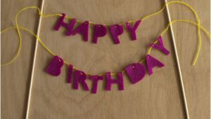 Happy Birthday Banner Tutorial Cake Creative Co Diy Tutorial Happy Birthday Cake Banner