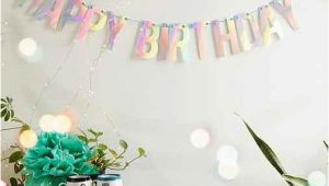 Happy Birthday Banner Urban Outfitters Uo Happy Birthday Party Banner From Urban Outfitters