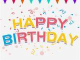 Happy Birthday Banner Vector Free Download Birthday Decorative Pattern Vector Balloon Happy