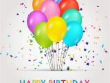 Happy Birthday Banner Vector Free Download Happy Birthday Vector Banners with Balloons Illustration