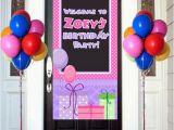 Happy Birthday Banner Vertical Happy Birthday Door Banner Birthday Personalize Welcome to
