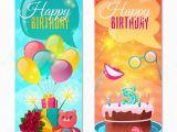 Happy Birthday Banner Vertical Imagenes Verticales Infantiles Feliz Cumpleanos