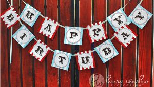 Happy Birthday Banner Vintage Unavailable Listing On Etsy