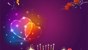 Happy Birthday Banner Wallpaper Birthday Poster Background Material Poster Birthday Get