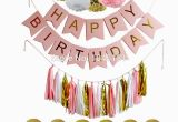 Happy Birthday Banner White and Gold Aliexpress Com Buy 100set Happy Birthday Banner with