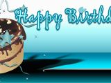 Happy Birthday Banner with Photo and Name Birthday Banners Cake Teal