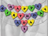 Happy Birthday Banner Yellow Items Similar to Diy Printable Happy Birthday Banner