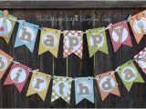 Happy Birthday Banner Zum Ausdrucken Happy Birthday Banner the Happy Scraps