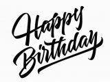 Happy Birthday Banner Zum Ausdrucken Happy Birthday Lettering Vector Free Download