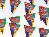 Happy Birthday Banners at Walmart 12 39 Quot Happy Birthday Quot Pennant Banner Walmart Com