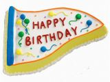 Happy Birthday Banners Cake Happy Birthday Banner Cake Wilton