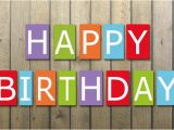 Happy Birthday Banners Colorful Birthday Banner Colorful Free Stock Photo Public Domain