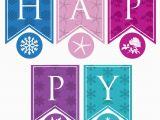 Happy Birthday Banners Custom Personalized Princess Happy Birthday Banner Printable Pdf