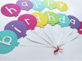 Happy Birthday Banners Diy Happy Birthday Banner Diy Template Efforts Diy