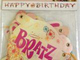 Happy Birthday Banners Ebay Bratz Fashion Pixiez 1 Happy Birthday Banner Party