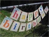 Happy Birthday Banners for Adults Birthday Banner Happy Birthday Boy Girl Child Adult