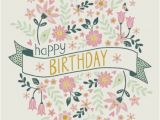 Happy Birthday Banners for Card Making Jane Ryder Gray Happy Birthday Banner Flowers