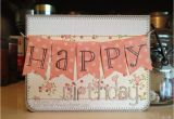 Happy Birthday Banners for Card Making My Wise Designs Happy Birthday Banner Card