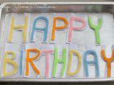 Happy Birthday Banners for Facebook Diy Felt Birthday Banner A Bird and A Bean