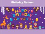 Happy Birthday Banners Free Download Colorful Happy Birthday Banner Template for Free Download
