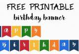 Happy Birthday Banners Free Printable Happy Birthday Banner Free Printable Paper Trail Design