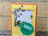 Happy Birthday Banners Melbourne Carolina Evans Stampin 39 Up Demonstrator Melbourne