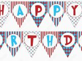 Happy Birthday Banners Printable Free Birthday Banner Template Printable Vastuuonminun
