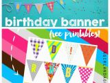 Happy Birthday Banners to Print Off Birthday Banner Printables Celebrate Happy Birthday