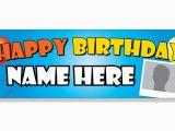 Happy Birthday Banners Uk Custom Birthday Banner Banner Man Co Uk