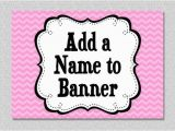 Happy Birthday Banners with Names Add Name to Happy Birthday Banner