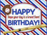 Happy Birthday Baseball Quotes A Grand Slam Baseball Birthday Free Birthday for Him