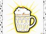 Happy Birthday Beer Cards Beer Icing K Art by Kim
