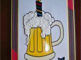 Happy Birthday Beer Cards Lena 39 S Creations Another Beer Mug Birthday Card