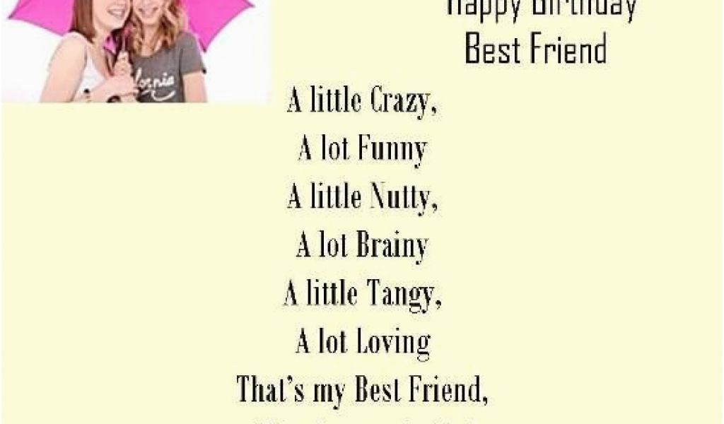 Download By SizeHandphone Tablet Desktop Original Size Back To Happy Birthday Best Friend Poems Quotes