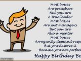 Happy Birthday Boss Greeting Card Birthday Wishes for Boss Quotes and Messages