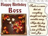 Happy Birthday Boss Greeting Card Birthday Wishes for Boss Quotes Quotesgram