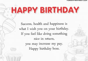 Happy Birthday Boss Quotes Funny Happy Birthday Boss Wishes and Quotes