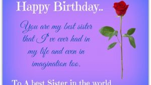 Happy Birthday Brother Quotes From Sisters Birthday Quotes for Sister Cute Happy Birthday Sister Quotes