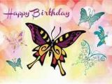 Happy Birthday butterfly Quotes Animal Happy Birthday Mom Quotes Quotesgram