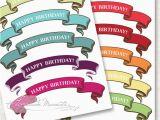 Happy Birthday Cake Banner Printable Free Cake Banner Printables Lemonade Moments Let 39 S
