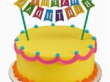 Happy Birthday Cake Banner Target Happy Birthday Banner Adornment Cupcake Cake Decorating