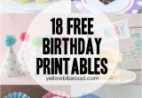 Happy Birthday Cake Banner Template 37 Birthday Printables Cakes and A Giveaway