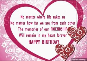 Happy Birthday Card For A Best Friend Wishes Quotes And Messages
