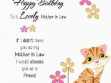 Happy Birthday Card for Mother In Law Sweet Greetings Birthday Wishes for Mother In Law Quotes