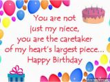 Happy Birthday Card for My Niece Birthday Wishes for Niece Wishesmessages Com