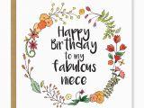 Happy Birthday Card for My Niece Ib20 Happy Birthday Niece Ivorymint Trade Site